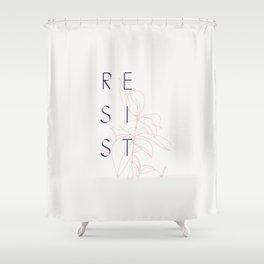 Resist Shower Curtain