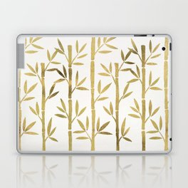 Bamboo Stems – Gold Palette Laptop & iPad Skin