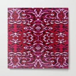 Raging Red Arabian Nights Metal Print
