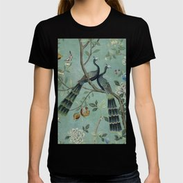 A Teal of Two Birds Chinoiserie T-shirt