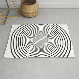 Wood section Rug