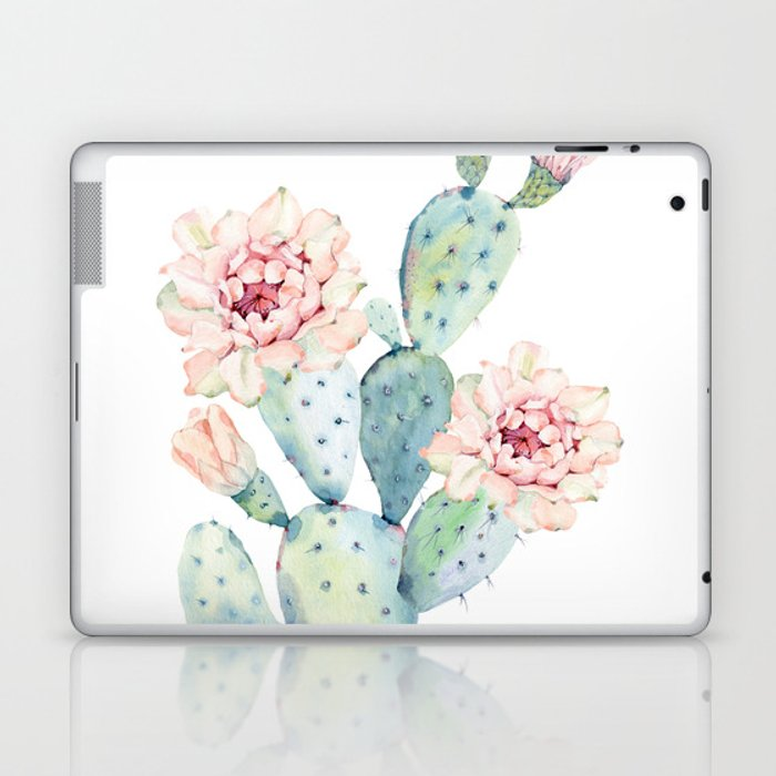 The Prettiest Cactus Laptop & iPad Skin