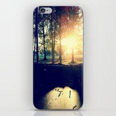 Backyard Sunset iPhone & iPod Skin