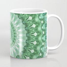 Emerald Green Mandala Coffee Mug