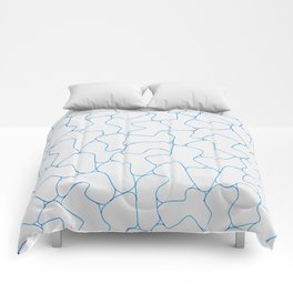 Stone Wall Drawing #1 Comforters