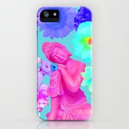 Pink Buddha iPhone Case