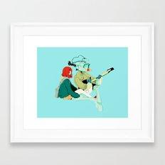 flcl Framed Art Print