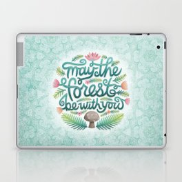 May the Forest Be With You Laptop & iPad Skin