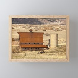 Denver Farm Framed Mini Art Print