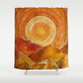 Sunset w.02 Shower Curtain
