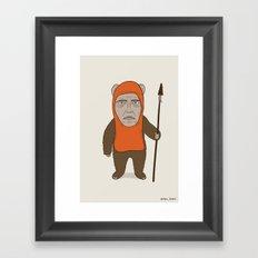 Ewoken Framed Art Print