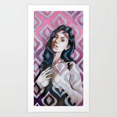 Transparent Design  Art Print