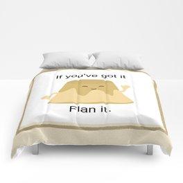 Flan it Comforters