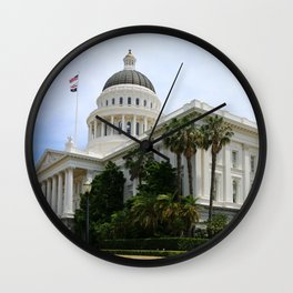 California State Capitol Wall Clock