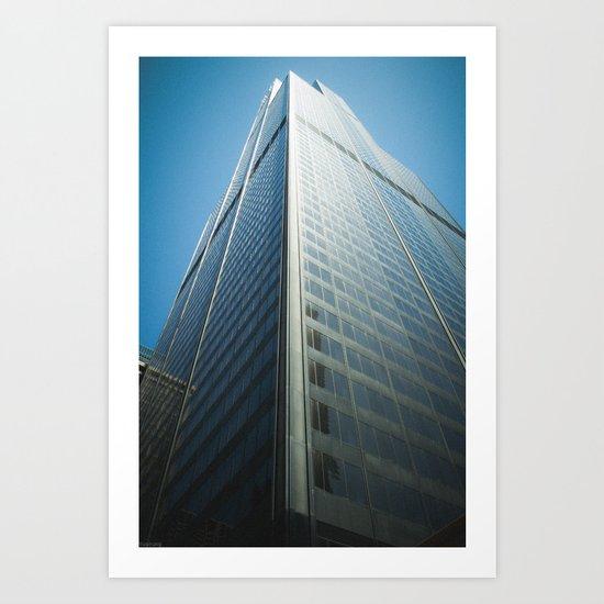Sears Tower Art Print