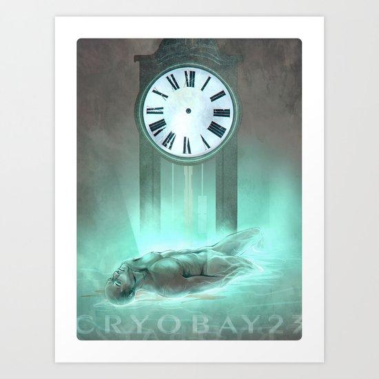 Cryobay 23 Art Print