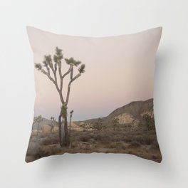 V is for Joshua Tree Throw Pillow