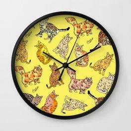 So many Cats and Kitties! Wall Clock