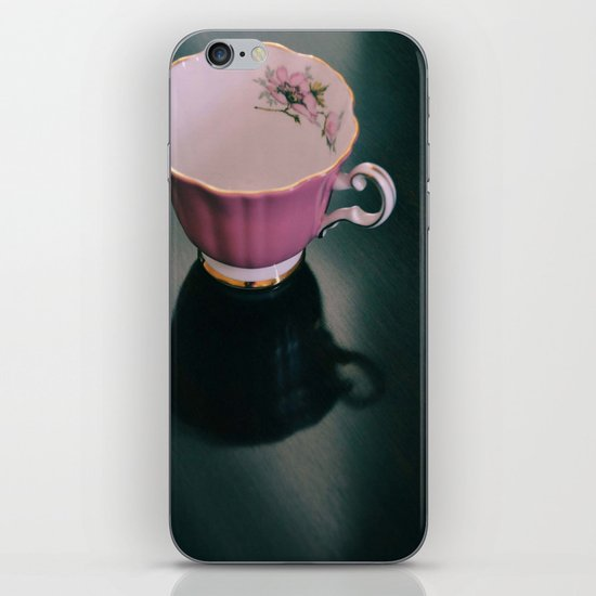 Pink Teacup iPhone & iPod Skin