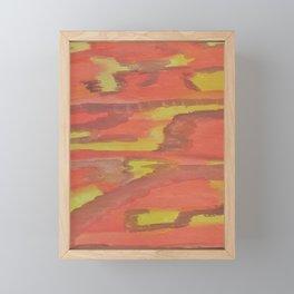 Travel Well Abstract Framed Mini Art Print