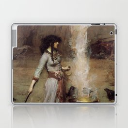 The Magic Circle, John William Waterhouse Laptop & iPad Skin