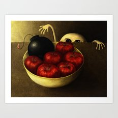 The Apples Art Print