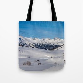 Cable Car. Tote Bag