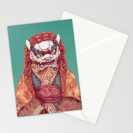 Imperial Guardian Lady Stationery Cards
