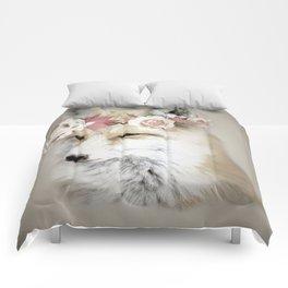 Flower Fox Comforters