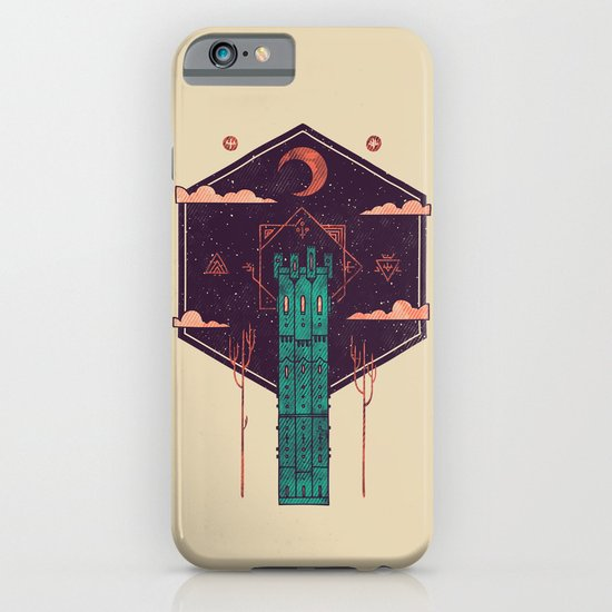 The Tower Azure iPhone & iPod Case