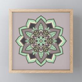 Elven Mandala Framed Mini Art Print
