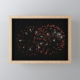 Fireworks 20 Framed Mini Art Print