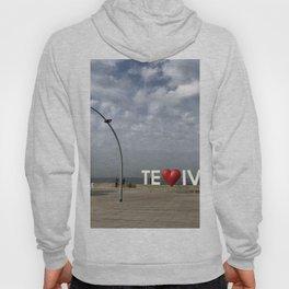 Tel Aviv Port Photography - TE(love)IV Sign Hoody