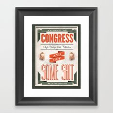 Congress Framed Art Print