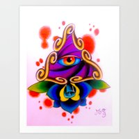 Clarity Pends on Angle of Vision Art Print