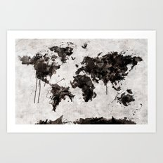 Wild World Art Print