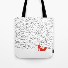 Black grass Tote Bag