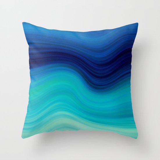SEA BEAUTY 2 Throw Pillow