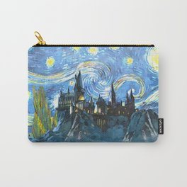 Starry Night in Hogwarts Castle - HP Carry-All Pouch