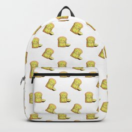 Avocado toast and mask Backpack