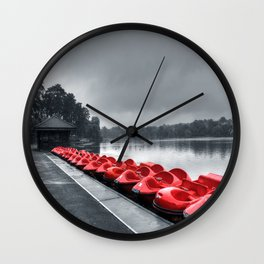 Boat Hire Wall Clock