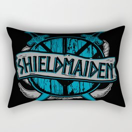 shieldmaiden #3 Rectangular Pillow