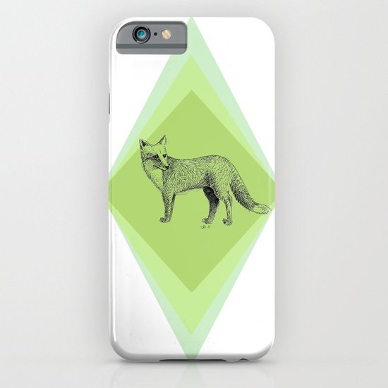 fox in forest iPhone & iPod Case