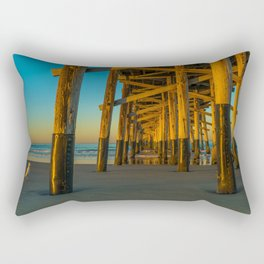 Pier Gull Rectangular Pillow