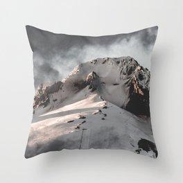 Mountain Moment III Throw Pillow