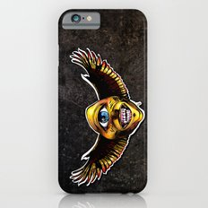 Happy Cycloptic Dog Eagle with a Stache (scratch back) iPhone 6s Slim Case