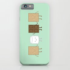Life is S'more Fun Together (Mint) iPhone 6s Slim Case
