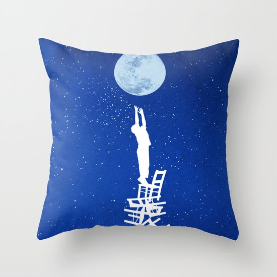 Out of Reach Throw Pillow