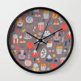 Big top treats. Funny Circus Wall Clock