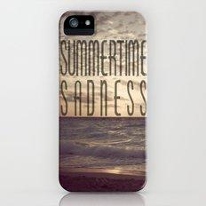 SUMMERTIME SADNESS iPhone (5, 5s) Slim Case